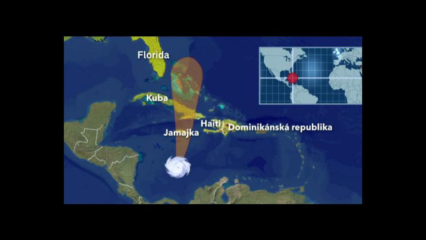 Video V Karibiku se připravují na Sandy