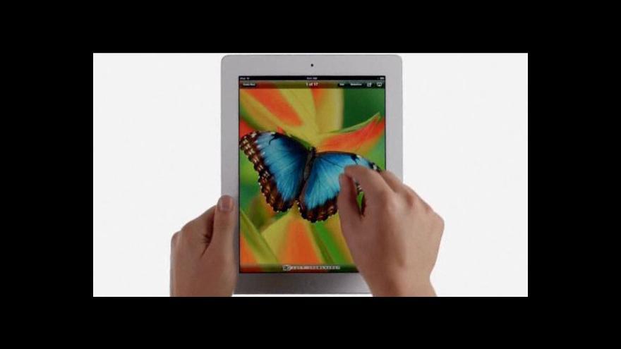 Video Apple představil nový iPad Mini