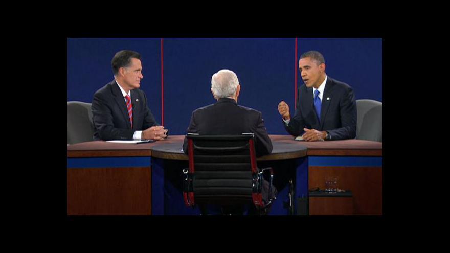 Video Poslední televizní duel: Obama vs. Romney (s českým překladem)