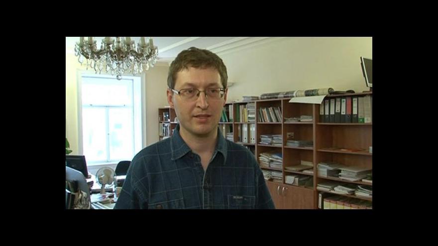 Video Hovoří památkář Marek Fajman