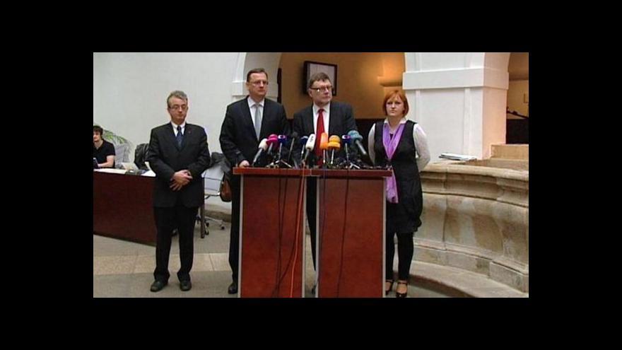 Video Nejistota kolem rozpočtu trvá