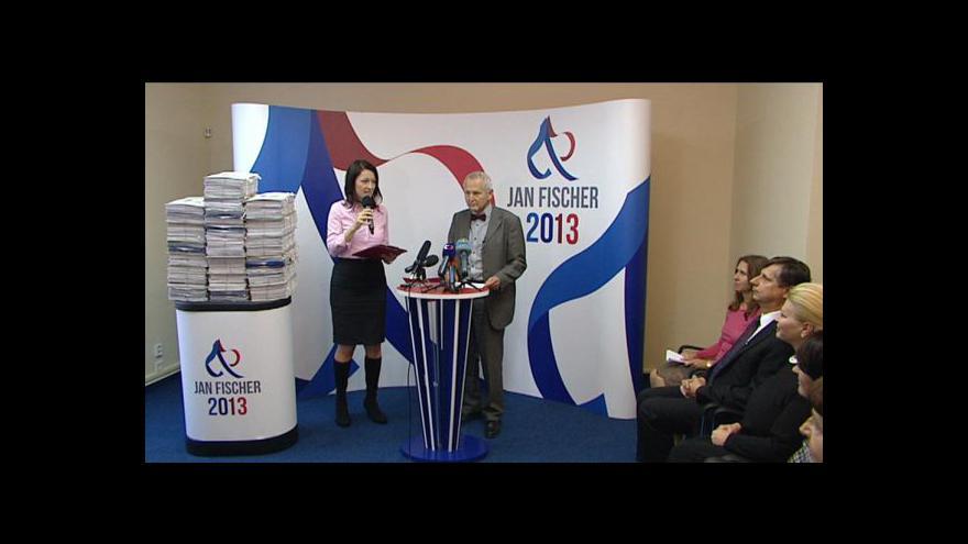 Video Brífink k prezidentské kampani Jana Fischera