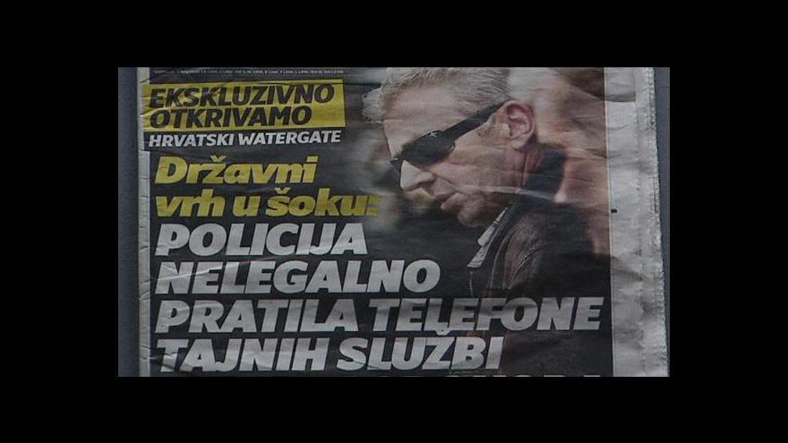 Video Chorvatsko má své Watergate