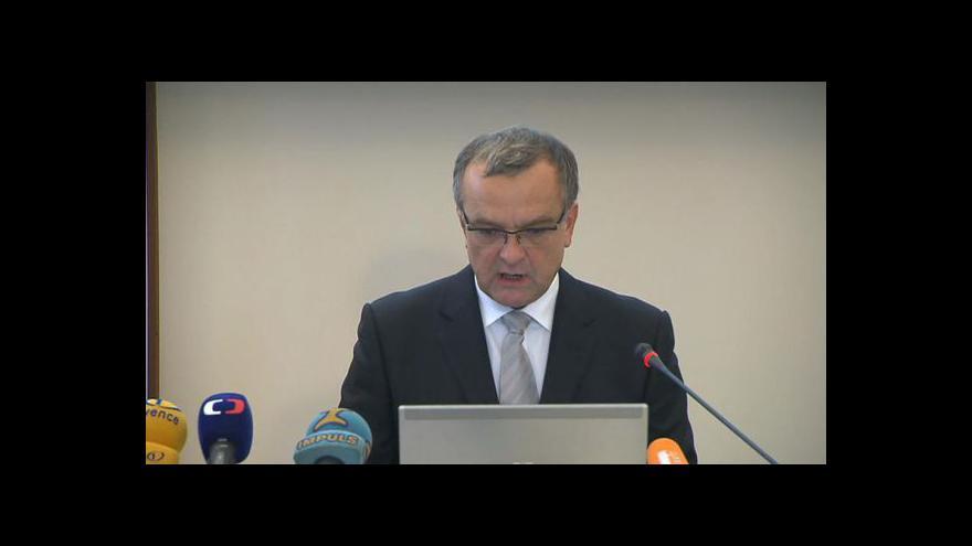 Video Brífink Miroslava Kalouska k dluhopisům