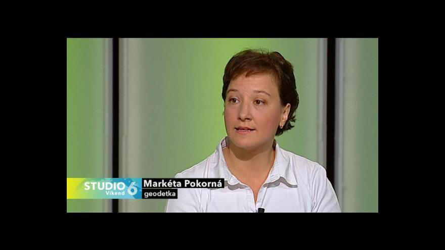 Video Rozhovor s geodetkou Markétou Pokornou