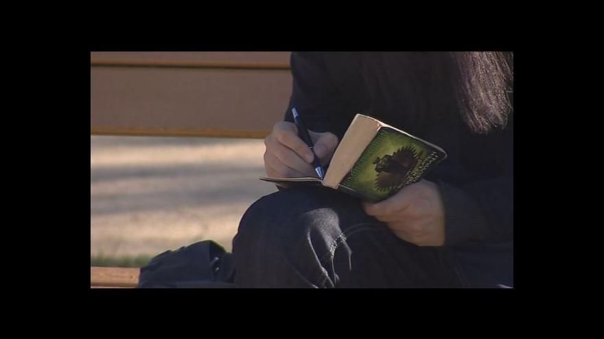 Video Knihoběžníkem je i student Ondřej Kadlec