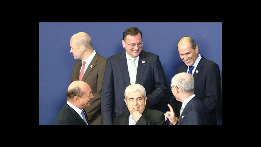 Video Premiér Nečas po summitu EU
