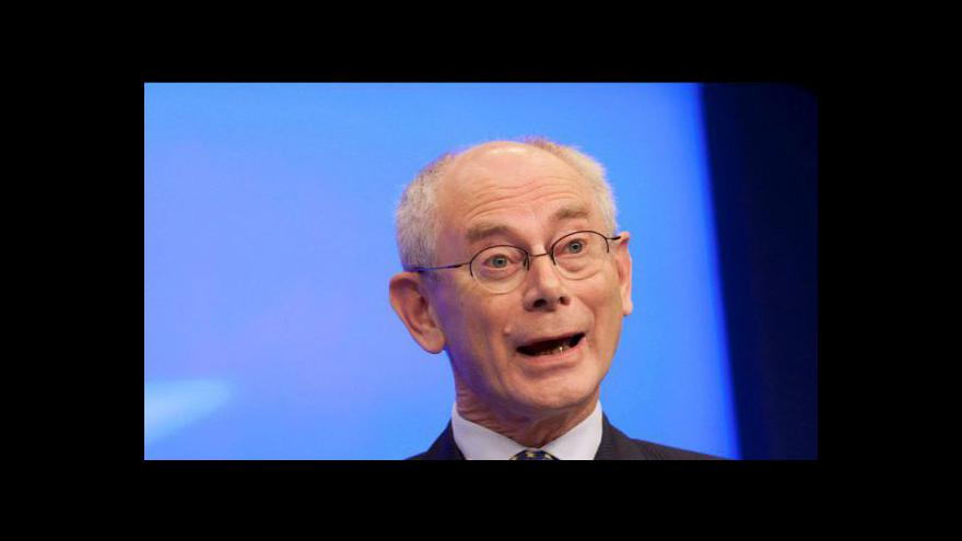 Video Summit EU řeší vytvoření bankovní unie