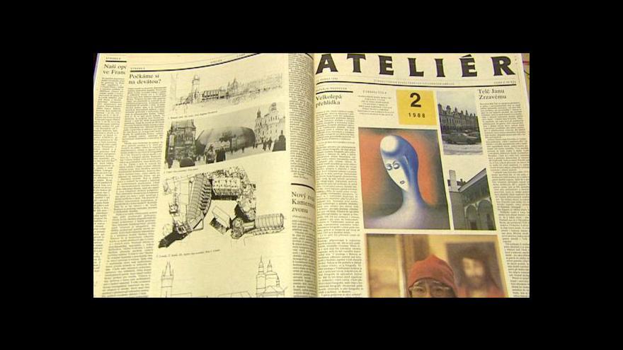 Video O Ateliéru informuje Eva Spáčilová