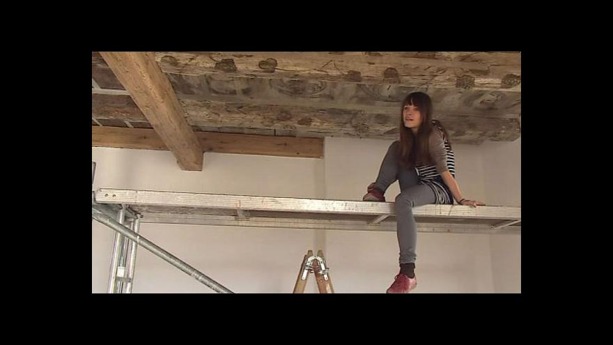 Video Hovoří restaurátorka Magdaléna Rečová