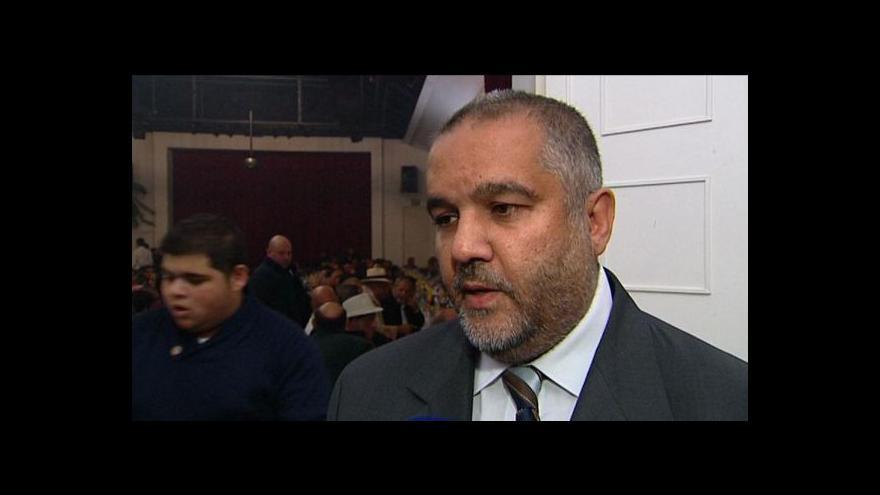Video Rozhovor s předsedou Unie olašských Romů Josefem Stojkou