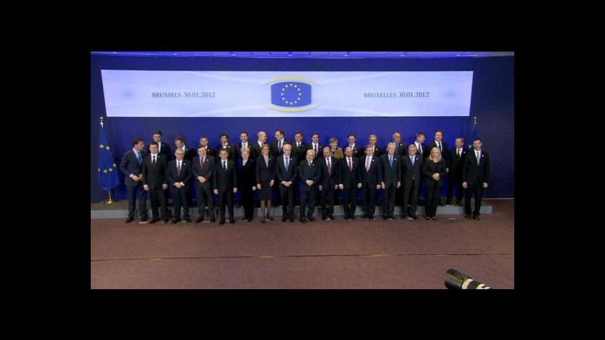 Video Lídři států EU budou řešit bankovní unii