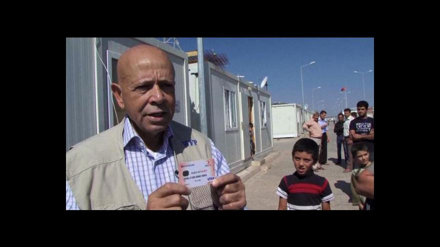 Video Speciální platební karty pro syrské uprchlíky