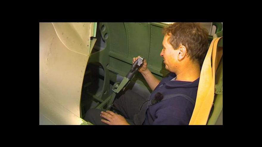 Video Reportáž Radovana Daňka o stavbě modelu Spitfire