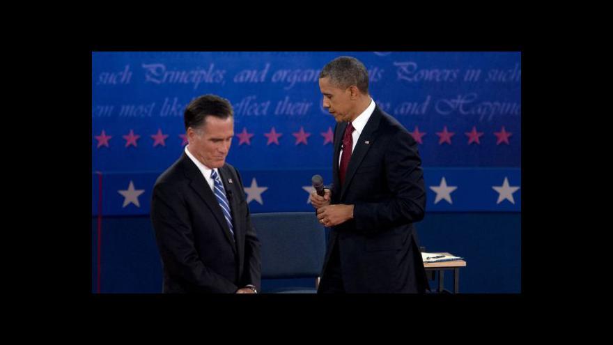 Video Sestřih debaty Obama - Romney s českým tlumočením