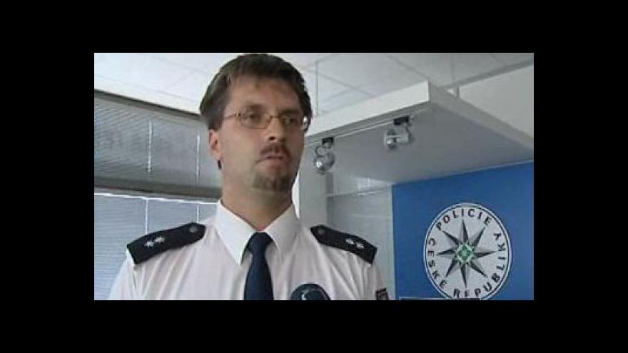 Video Hovoří mluvčí policie Pavel Šváb