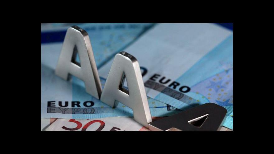 Video Horší rating pro španělské banky