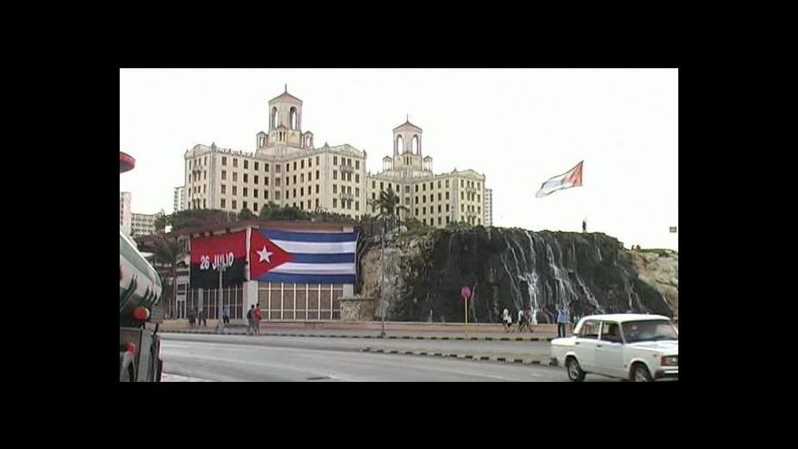 Video Reportáž a Studio ČT24 o uvolnění poměrů na Kubě