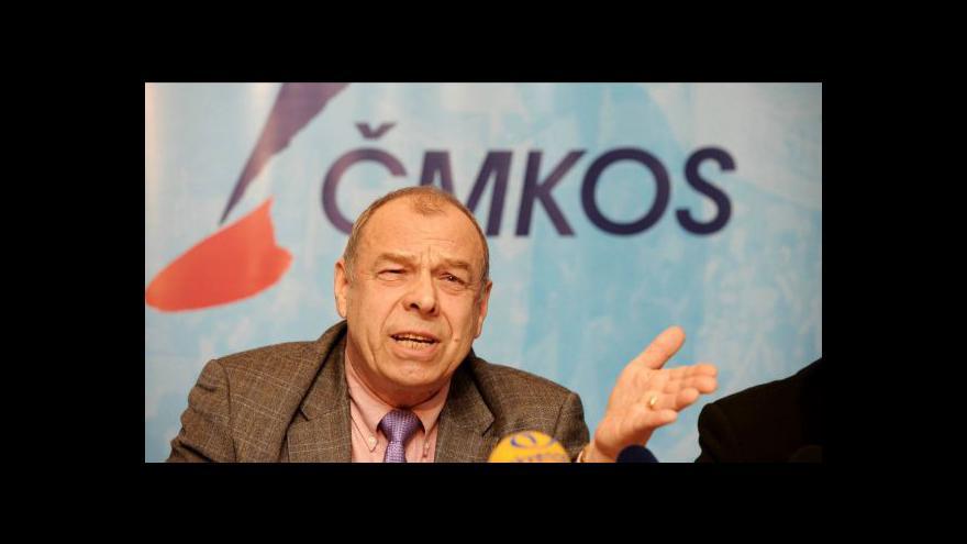 Video Rozhovor s předsedou ČMKOS Jaroslavem Zavadilem