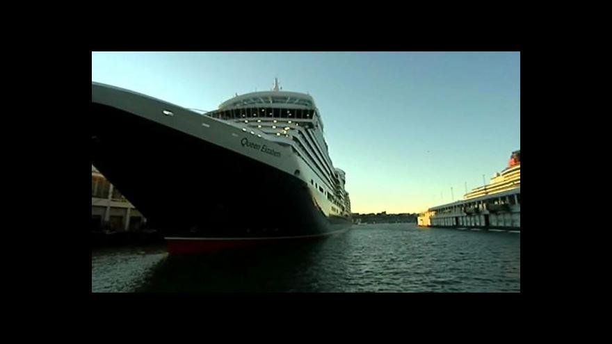 Video V Kochi je centrum pro výletní lodi