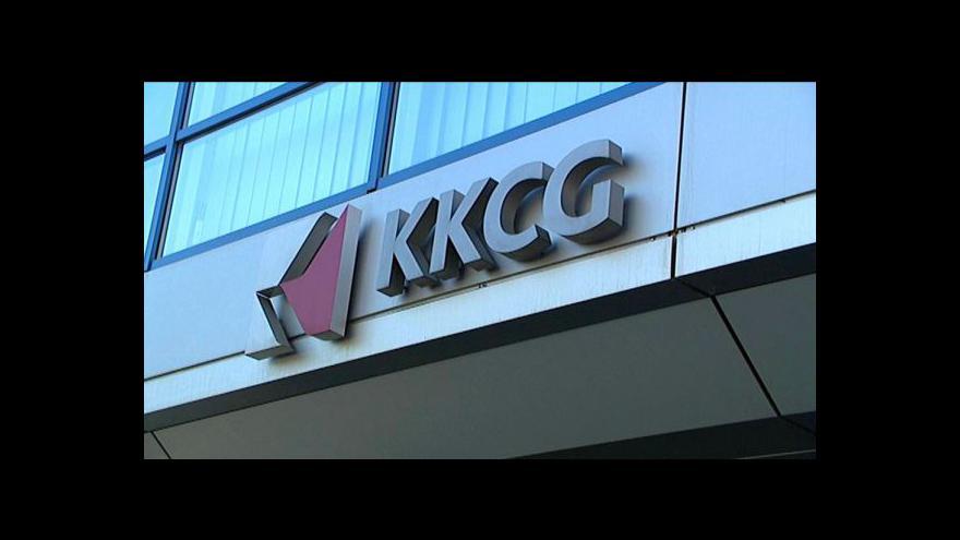 Video Mluvčí skupiny KKCG Daniel Plovajko hostem studia ČT24