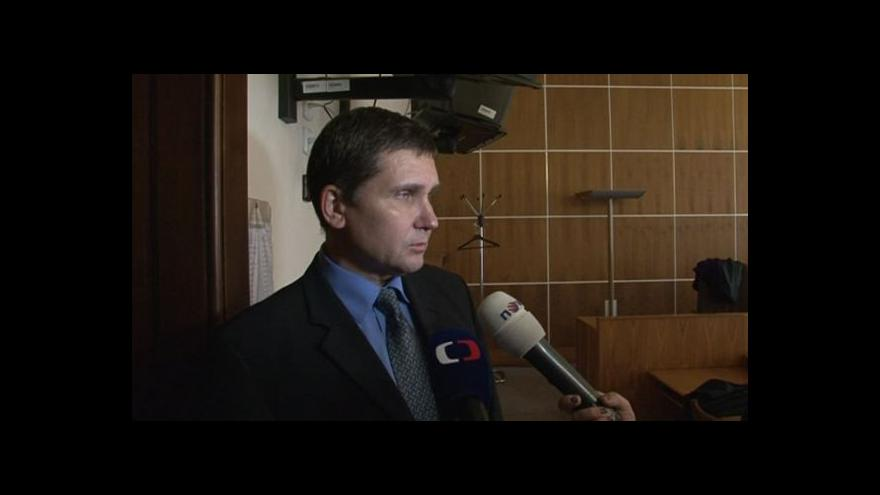 Video Předseda senátu Miloš Žďárský o kauze