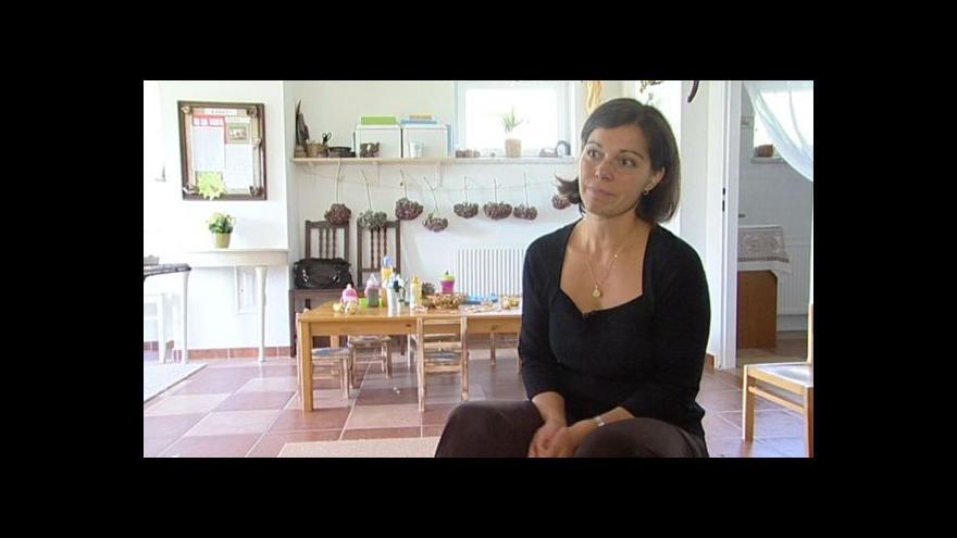 Video Hovoří provozovatelka miniškolky Daniela Mauleon