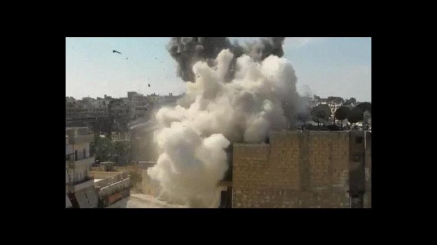 Video Turecko-syrské napětí