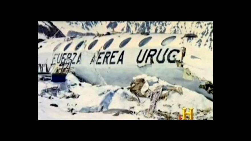 Video Výročí letecké havárie v chilských Andách