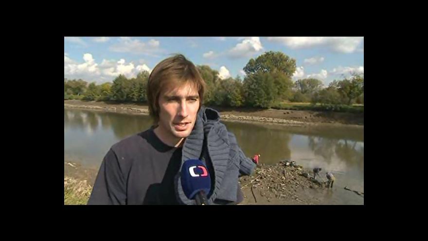 Video Ivan Čižmář a Marek Tomaštík o kostelu na dně Moravy