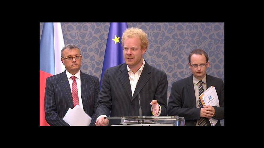 Video Telefonát Tomáše Sedláčka z Frankfurtu