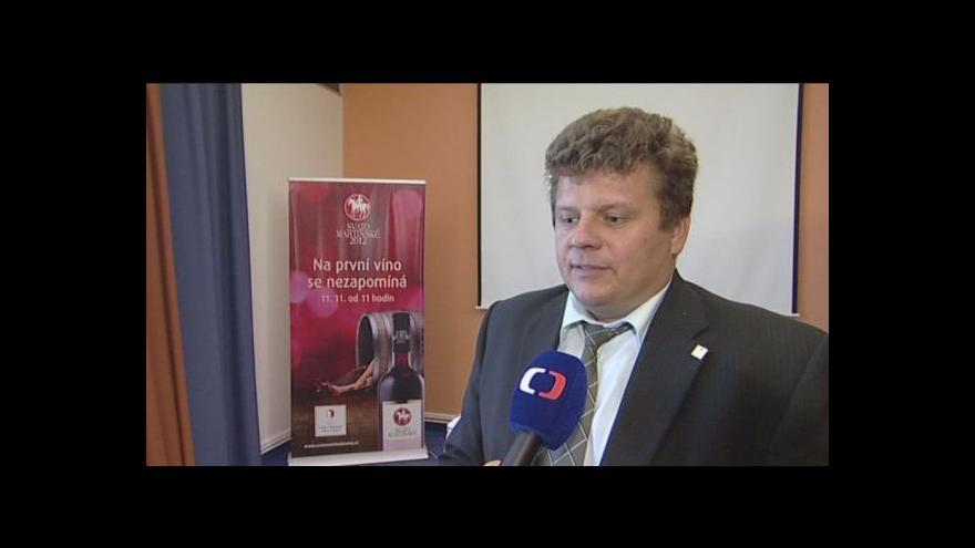 Video Martin Půček z Vinařského fondu o Svatomartinském víně