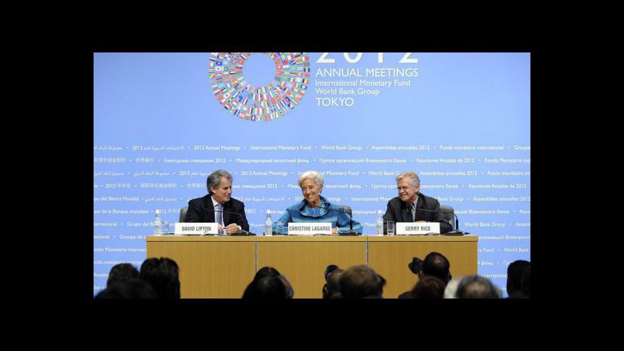Video Lagardeová připustila prodloužení lhůty pro Řecko