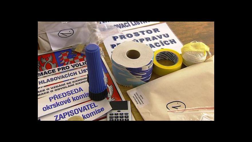 Video Volební přípravy na Vysočině