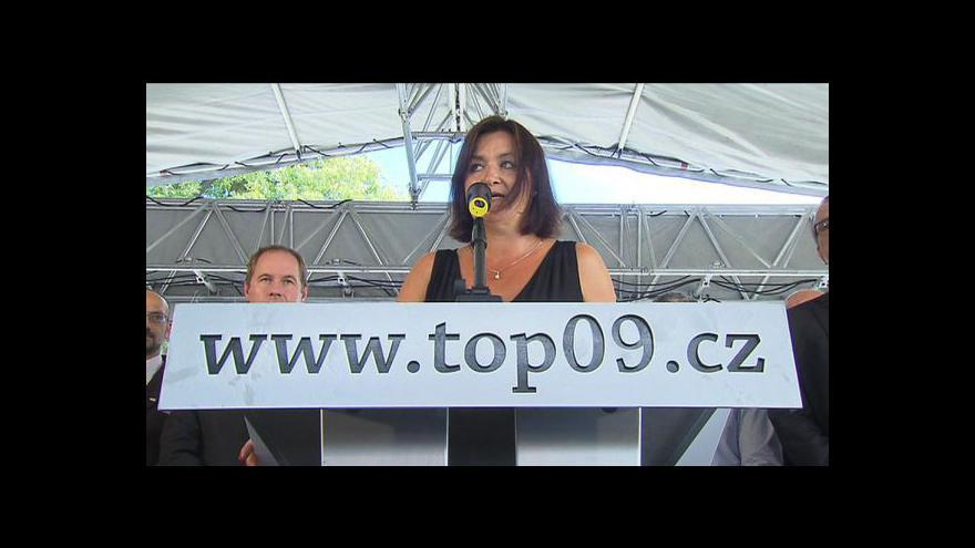 Video TOP 09 projedná Drábkova nástupce. Jména ale neřekne