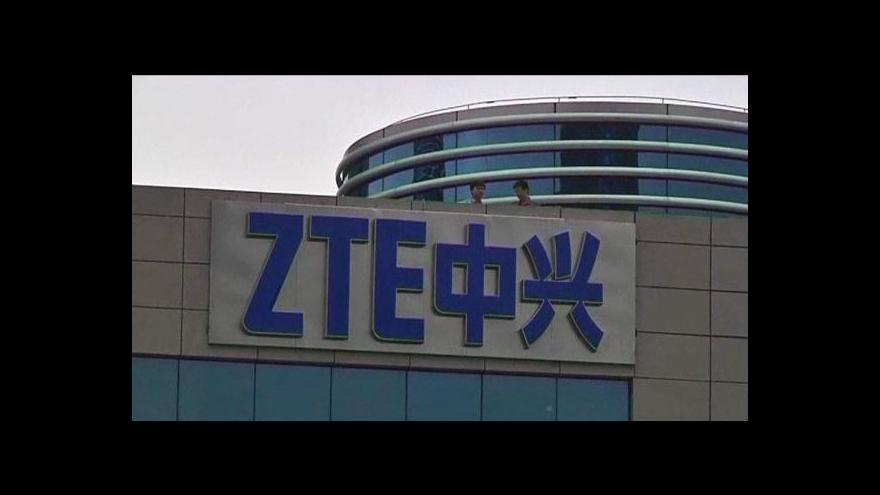 Video Kongres žádá sankce pro čínské společnosti Huawei a ZTE