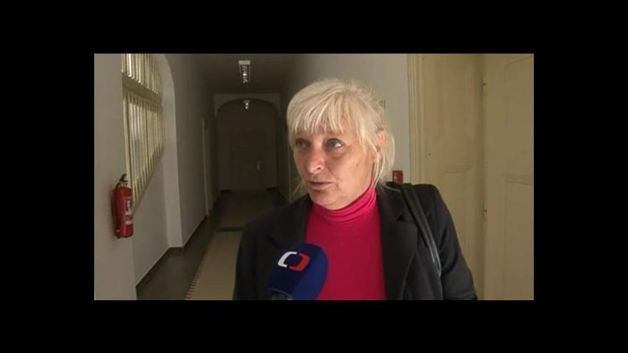 Video Hovoří opoziční zastupitelka Troskotovic Hana Kovaříková (nez.)