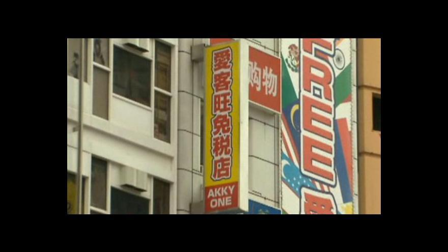 Video Číňané teď do Japonska nemíří