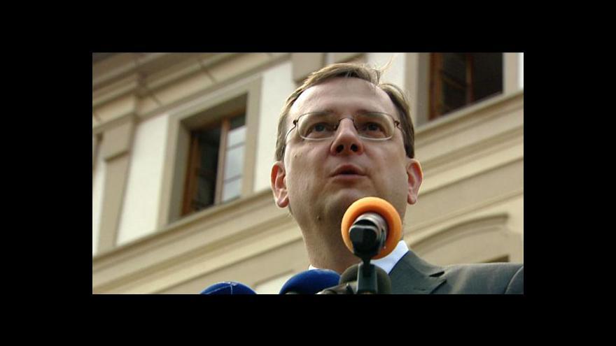 Video Projev Petra Nečase na konferenci Dny USA a EU