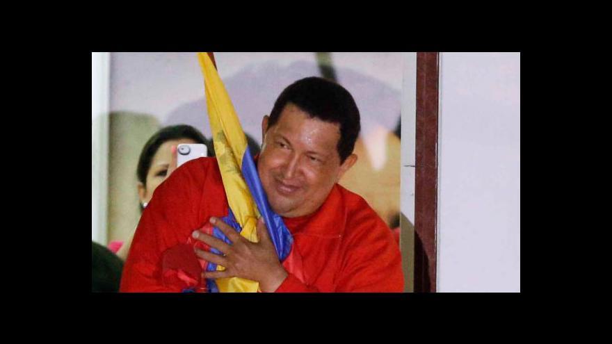 Video Chávez zůstává venezuelským prezidentem