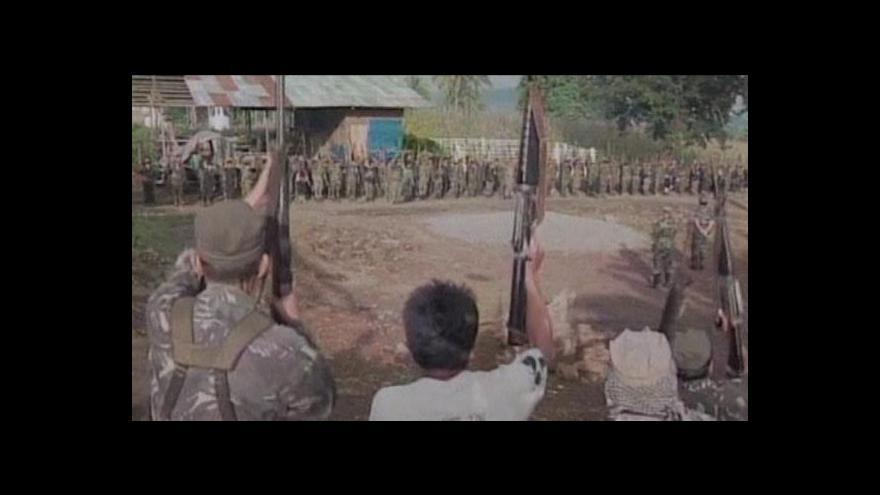 Video Filipínci se dočkali mírové dohody po 40 letech