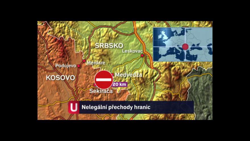 Video Problém s hraničními přechody mezi Srbskem a Kosovem
