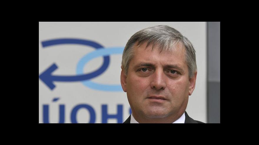 Video Šéf antimonopolního úřadu Petr Rafaj v Událostech, komentářích