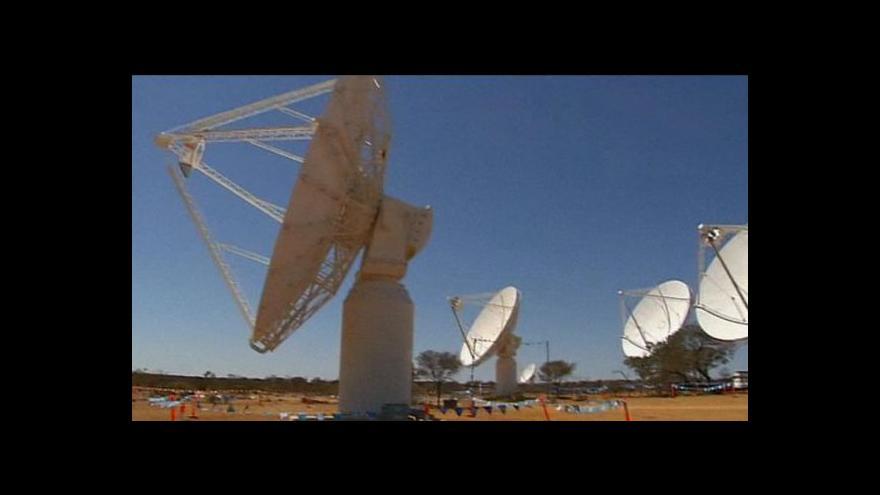 Video V Austrálii představili nový teleskop