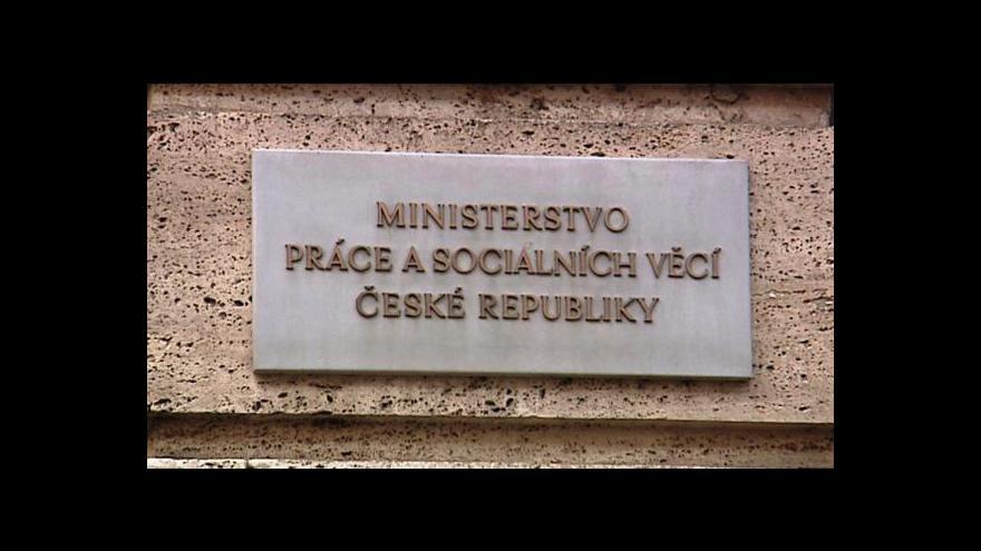 Video Brífink ČSSD k situaci na MPSV