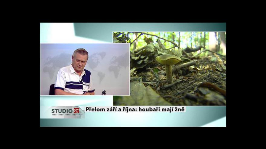 Video Rozhovor s mykologem Jaroslavem Landou