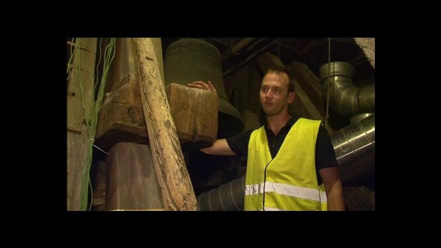 Video Jan Štěpánek o termosanaci kostelní věže