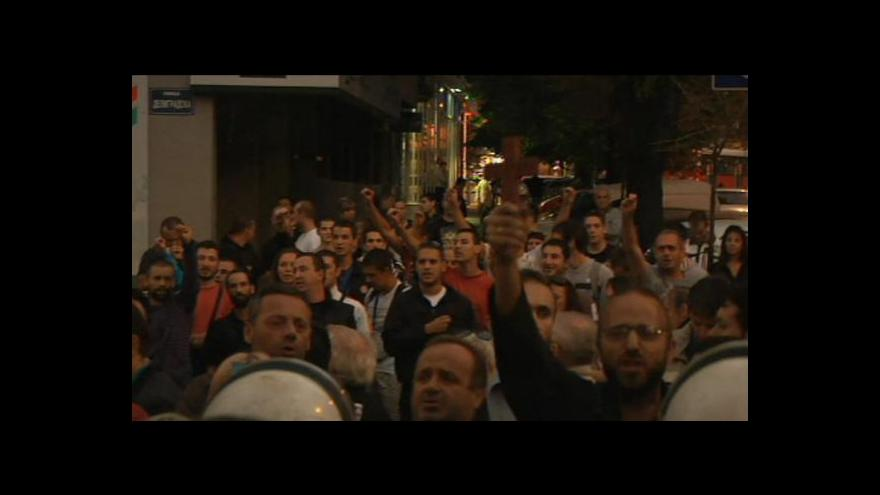 Video Srbská policie zakázala pochod gayů