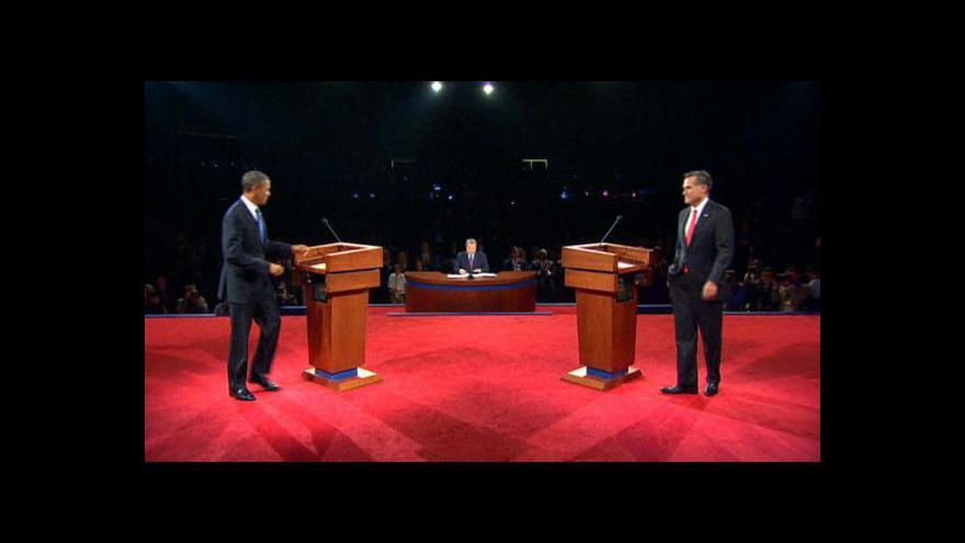 Video Sestřih debaty prezidentských kandidátů USA (s českým překladem)