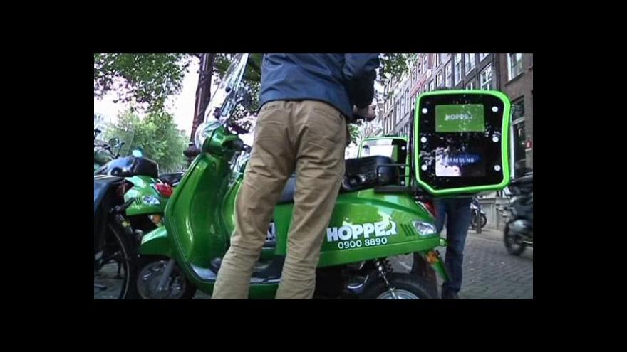 Video Taxi skútr Hopper
